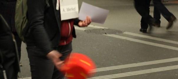 """Ein """"Leiterlispiel"""" gegen das WEF"""